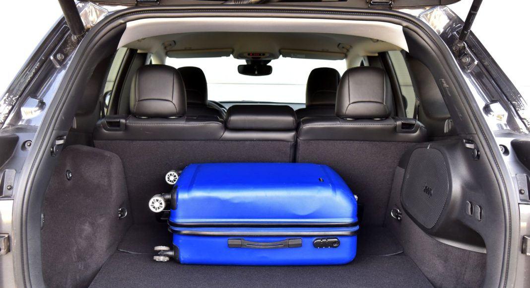 Jeep Cherokee FL - bagażnik