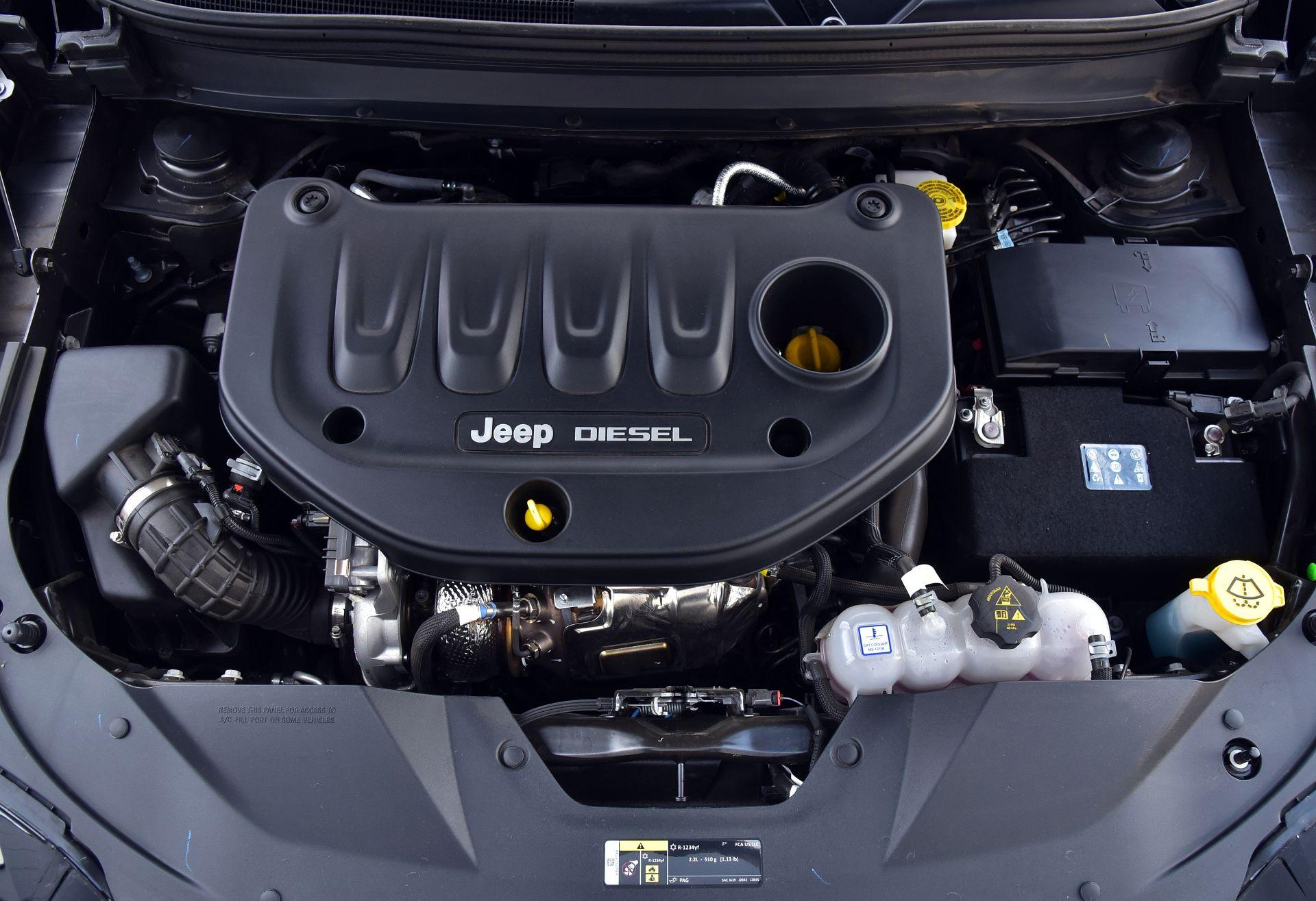 Jeep Cherokee - silnik