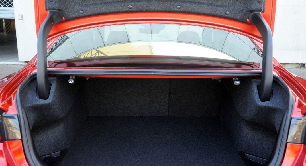 Mazda 6 - bagażnik