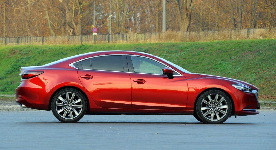 Mazda 6 - bok