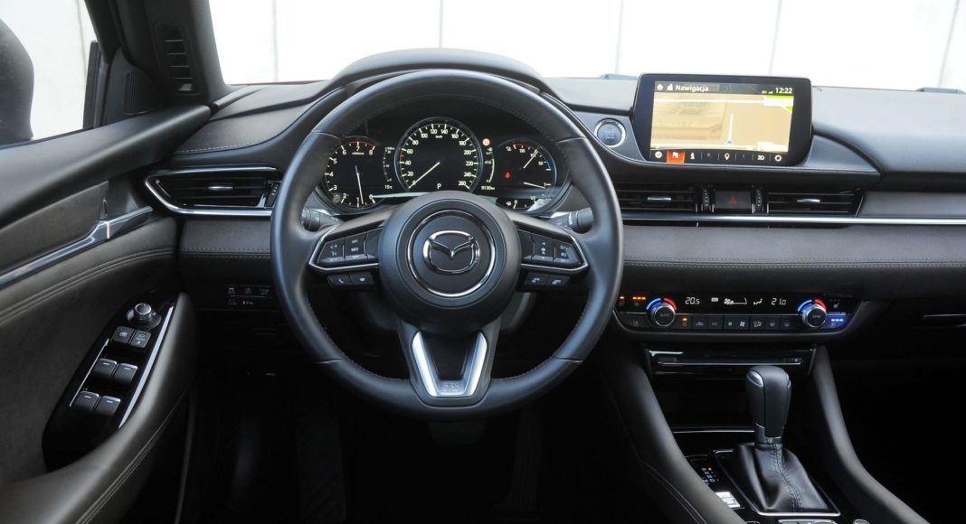 Mazda 6 - deska rozdzielcza