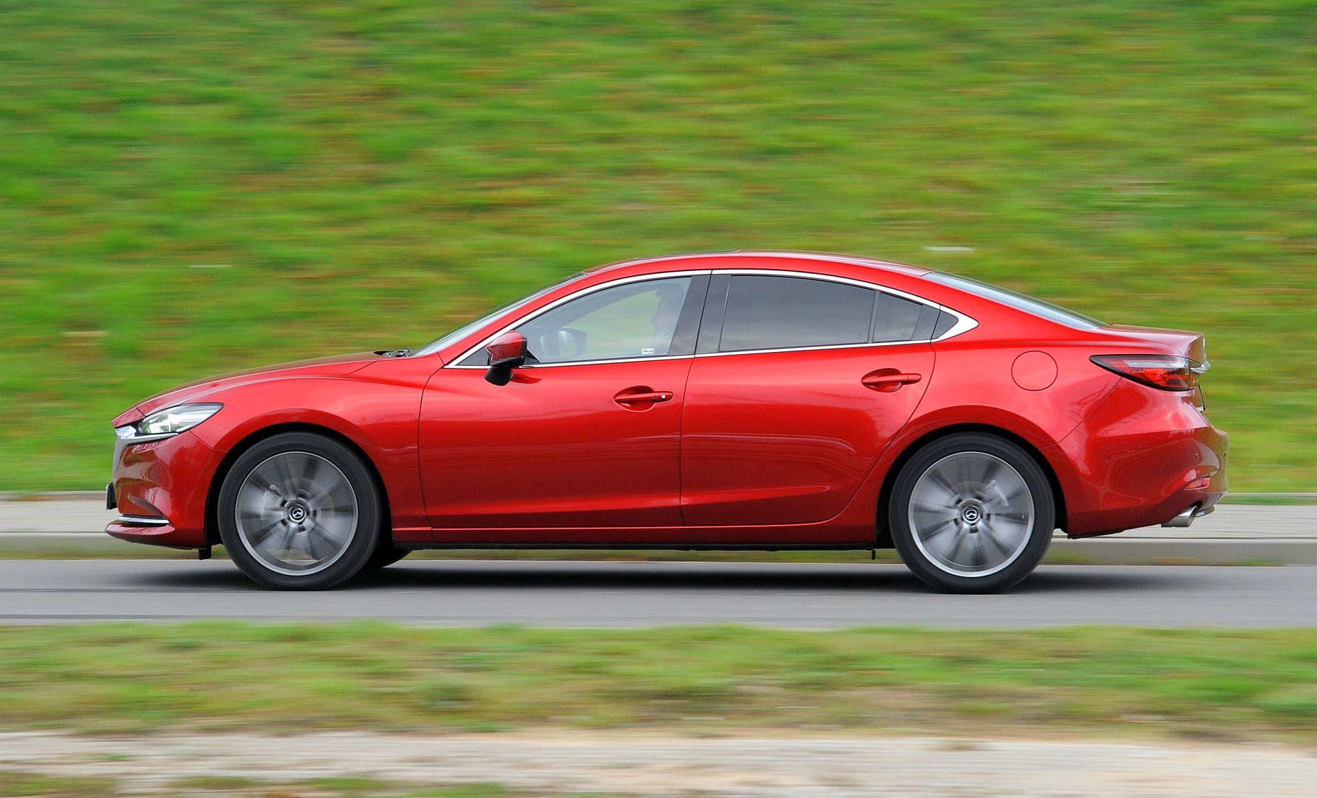 Mazda 6 - dynamiczne