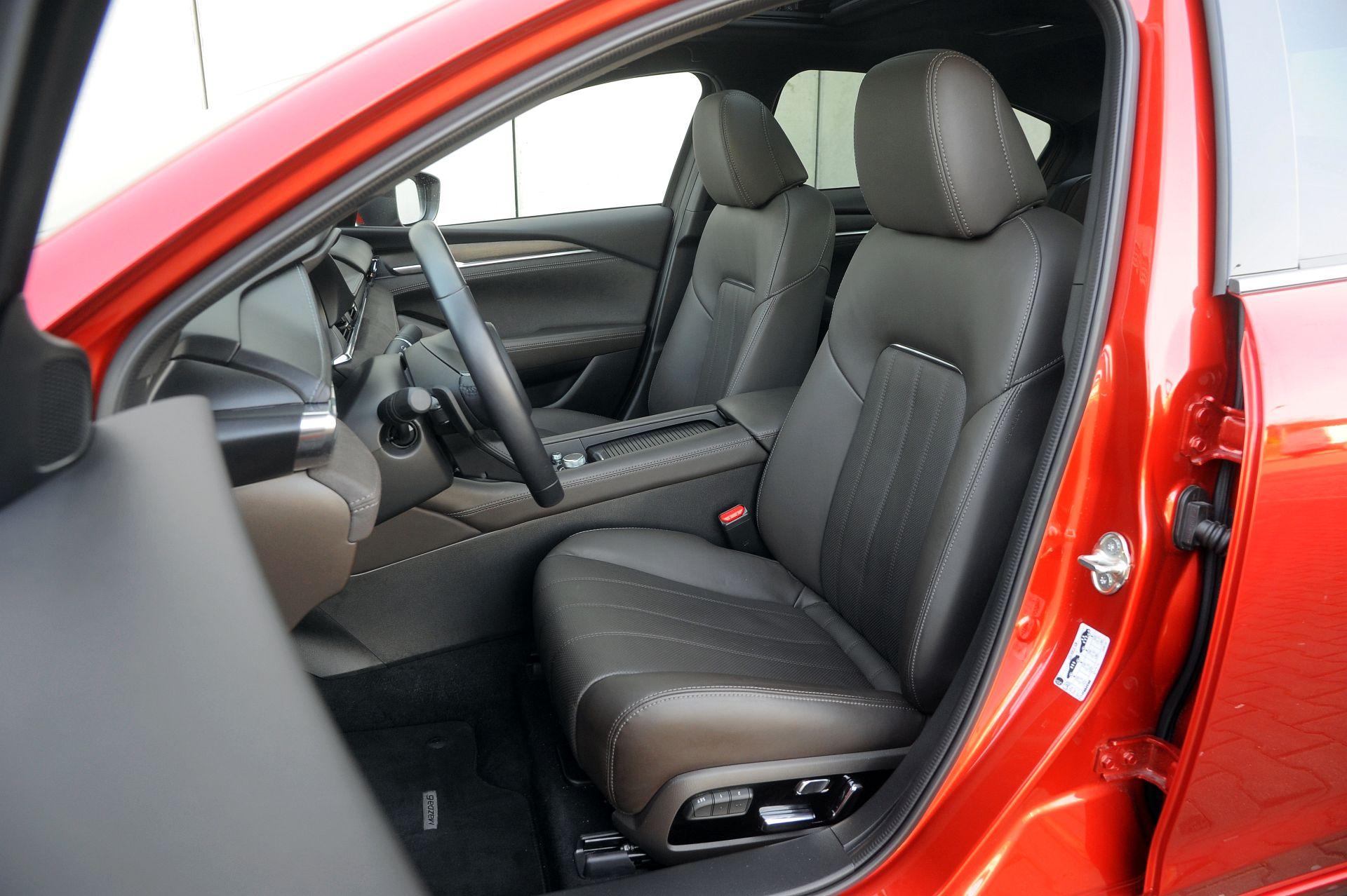 Mazda 6 - fotel kierowcy