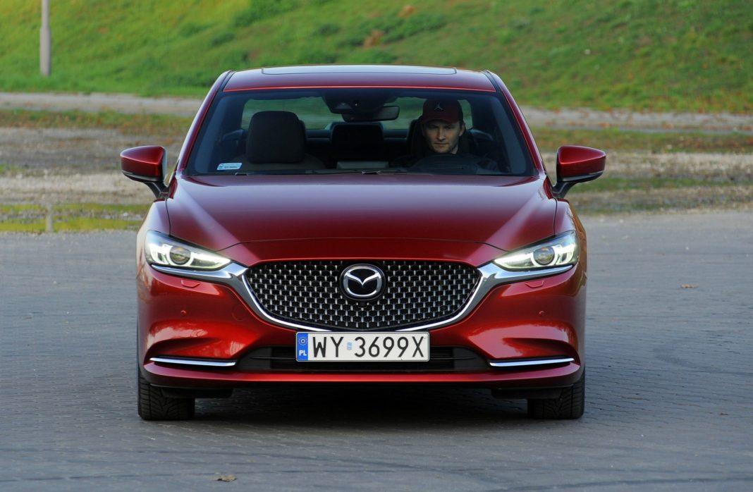 Mazda 6 - przód