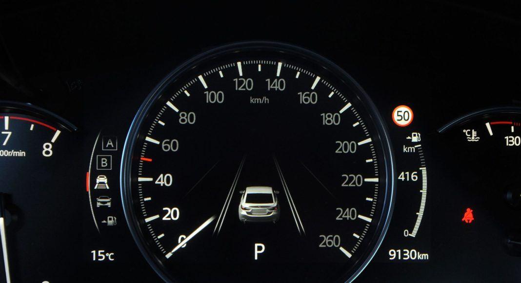 Mazda 6 - zegary