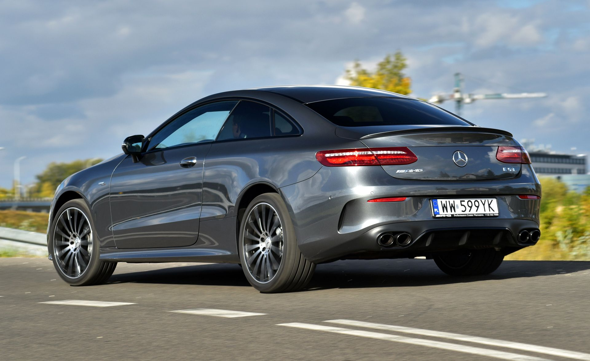 Mercedes-AMG E 53 Coupe - dynamiczne
