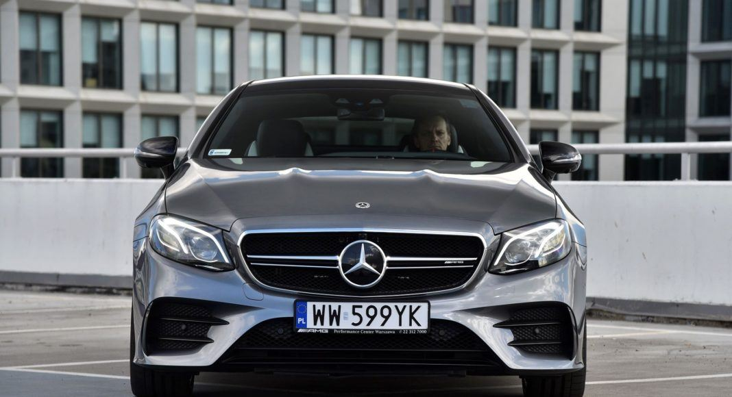 Mercedes-AMG E 53 Coupe - przód