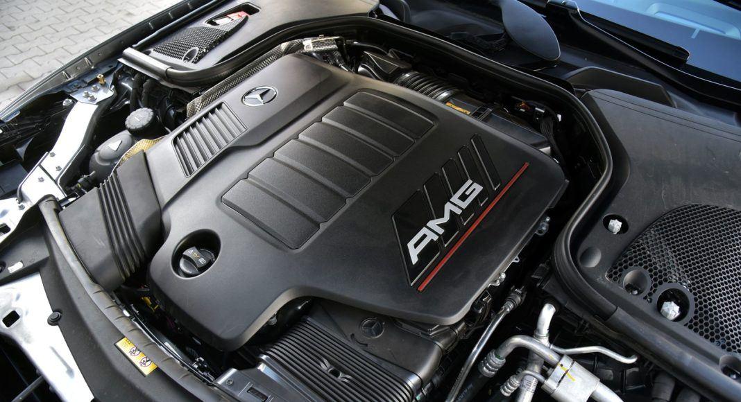 Mercedes-AMG E 53 Coupe - silnik