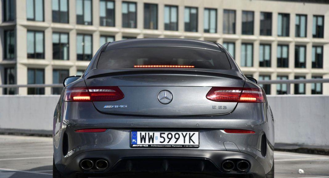 Mercedes-AMG E 53 Coupe - tył