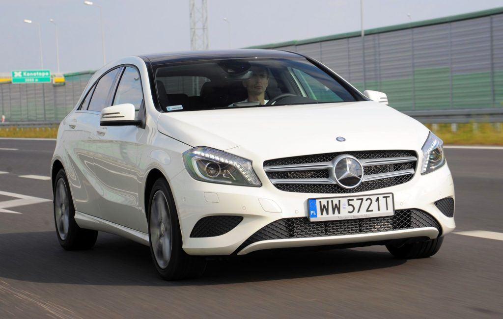 Mercedes Klasy A - dynamiczne