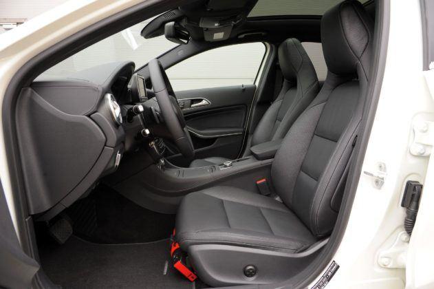 Mercedes Klasy A - fotel kierowcy