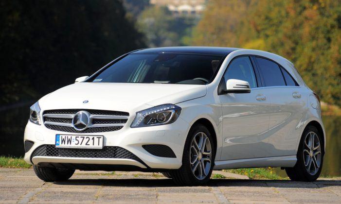 Mercedes Klasy A - przód
