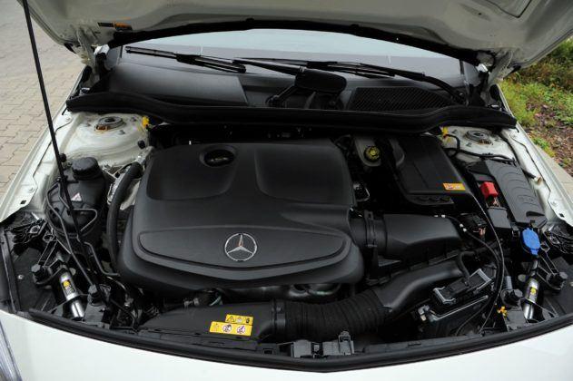 Mercedes Klasy A - silnik