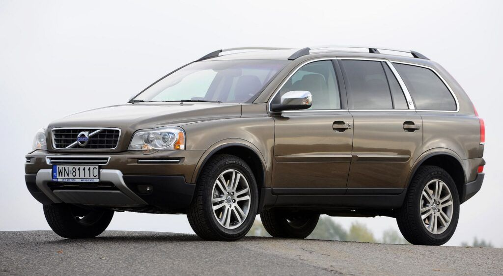 VOLVO XC90 I FL D5 2.4d 200KM 6AT AWD WN8111C 10-2011