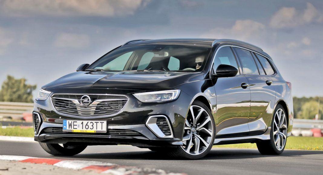 Opel Insignia ST Diesel BiTurbo GSi - przód