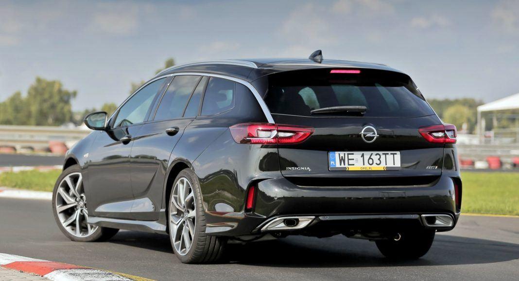 Opel Insignia ST Diesel BiTurbo GSi - tył