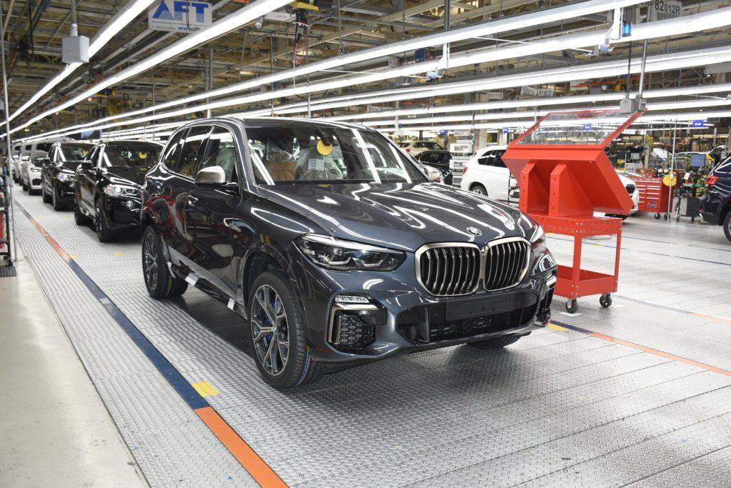 BMW X5 (G05), fabryka BMW w Spartanburgu.