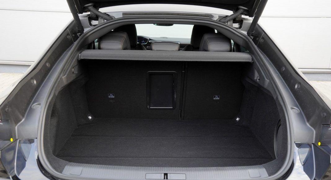 Peugeot 508 - bagażnik