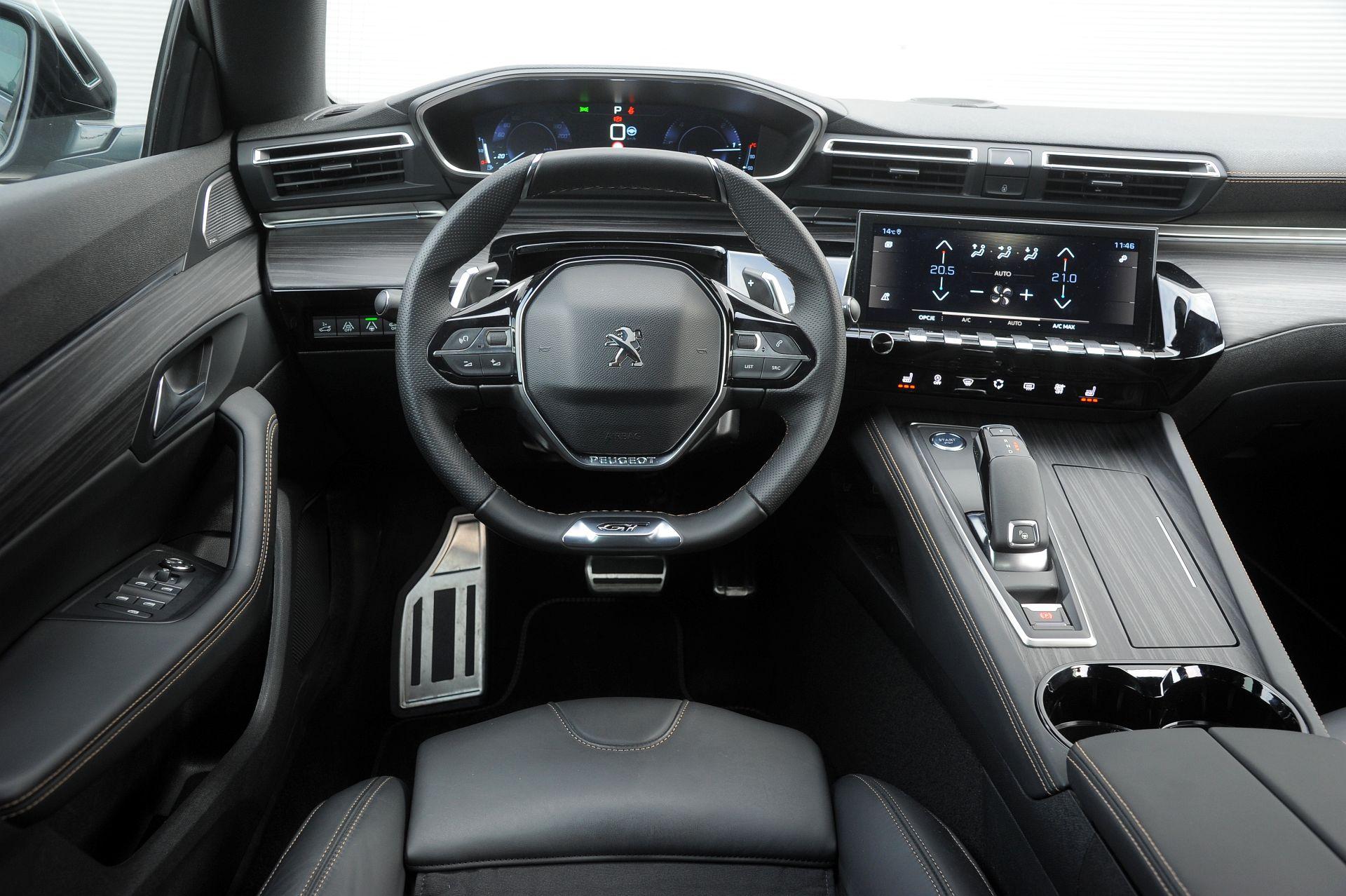 Peugeot 508 - deska rozdzielcza