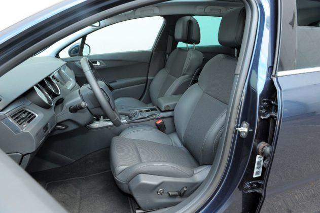 Peugeot 508 - fotel kierowcy