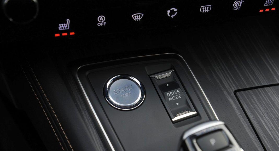 Peugeot 508 - przyciski
