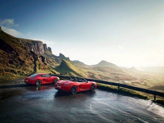 Porsche 718 T Boxster & Cayman