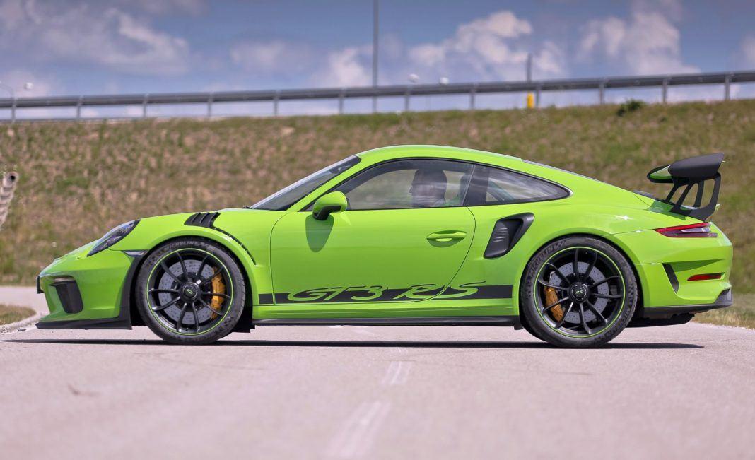 Porsche 911 GT3 RS - bok