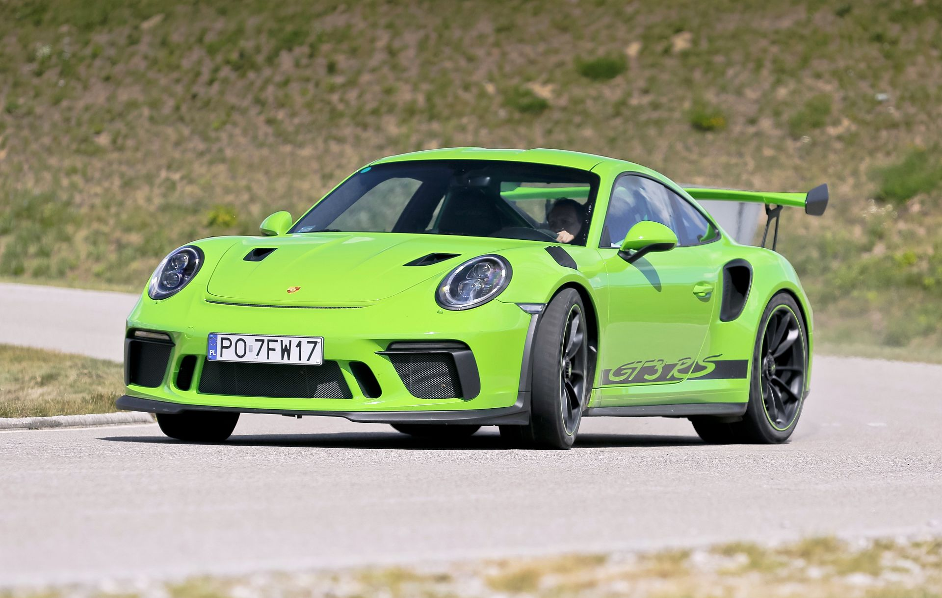Porsche 911 GT3 - dynamiczne