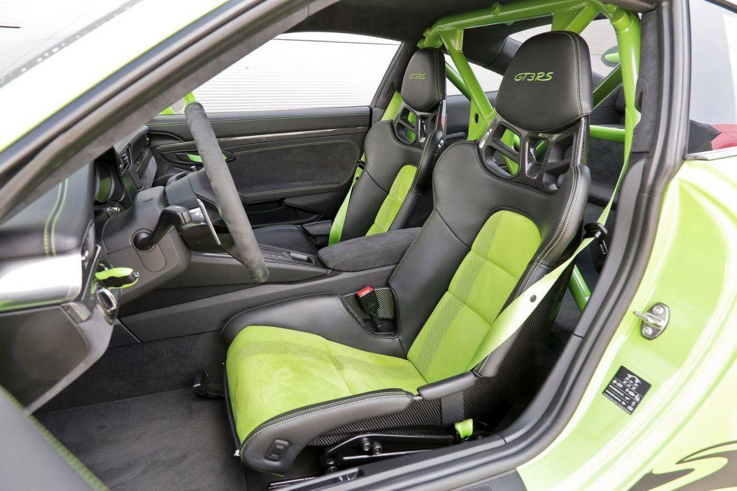 Porsche 911 GT3 - fotel kierowcy