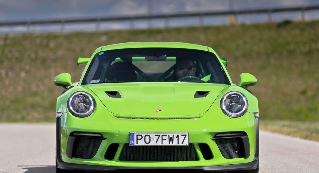 Porsche 911 GT3 RS - przód