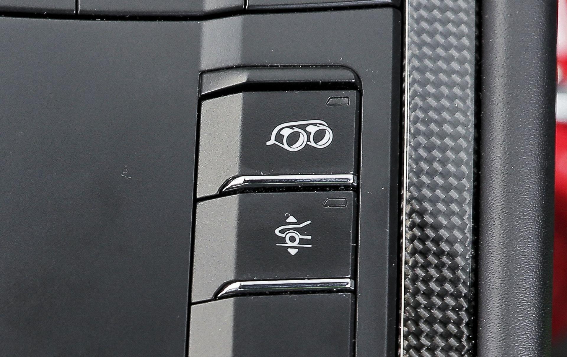 Porsche 911 GT3 - przyciski