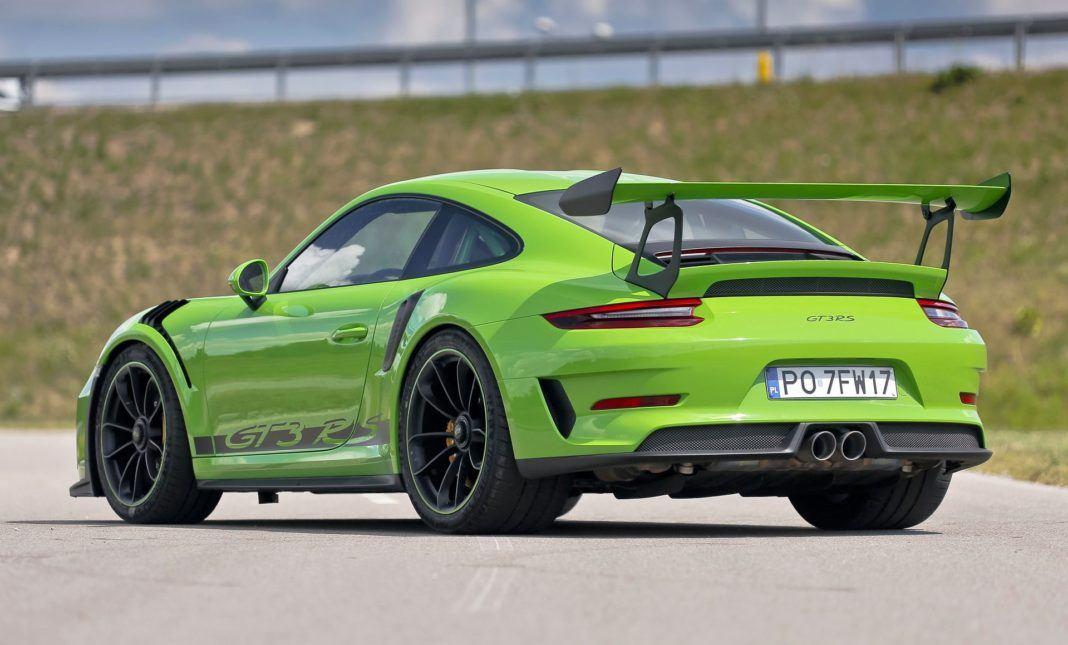 Porsche 911 GT3 RS - tył