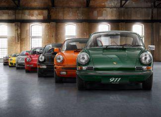 Wszystkie generacje Porsche 911 – HISTORIA