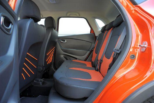 Renault Captur - kanapa