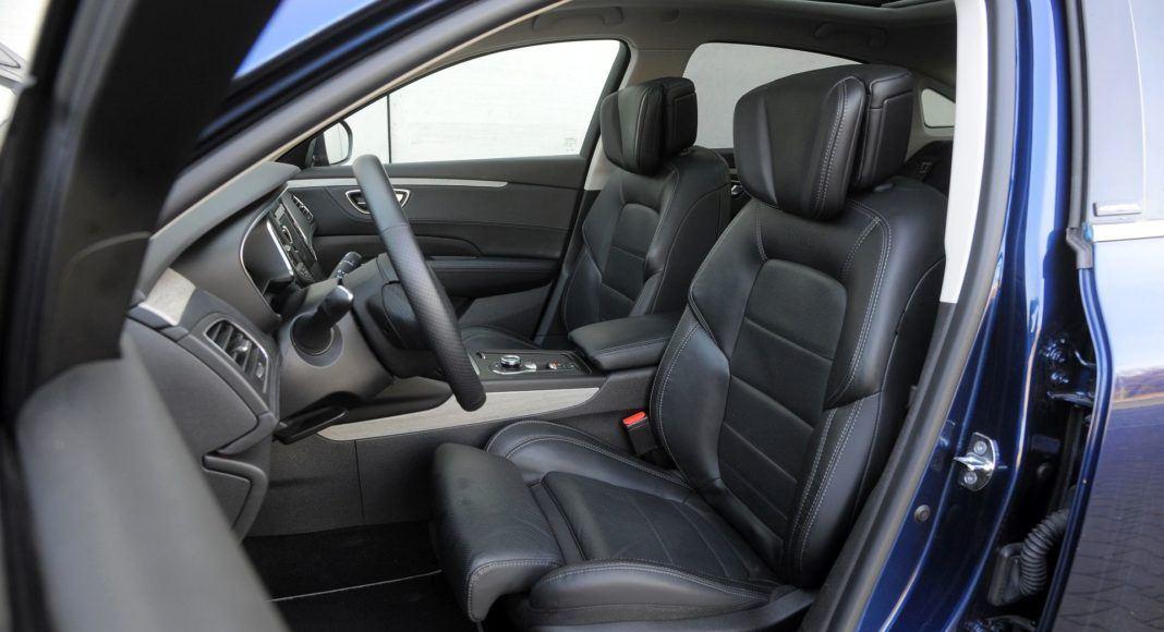Renault Talisman - fotel kierowcy