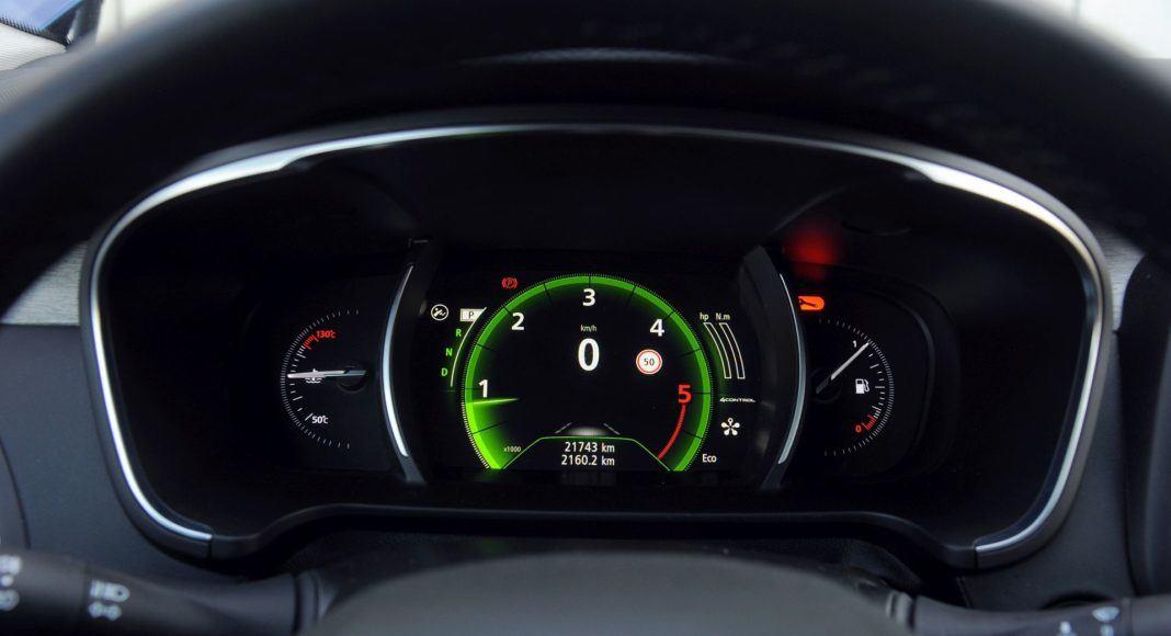 Renault Talisman - zegary