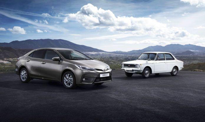 Toyota Corolla - otwierające