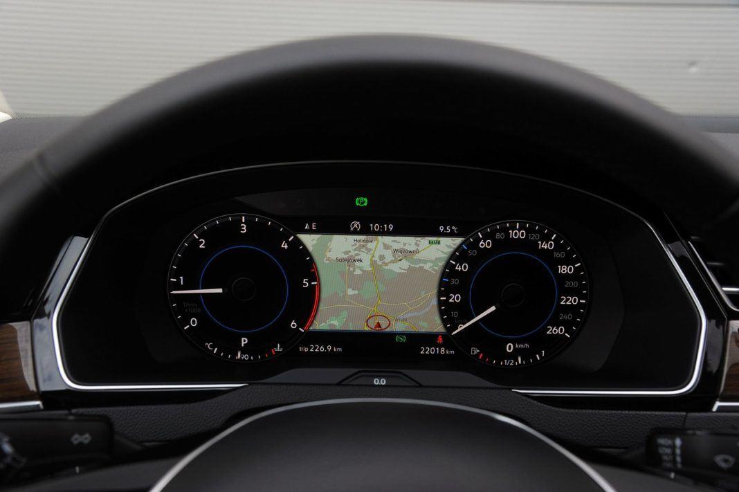 Volkswagen Passat - zegary