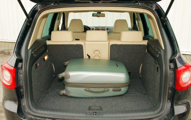 Volkswagen Tiguan I - bagażnik