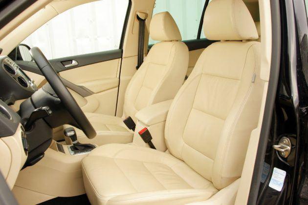 Volkswagen Tiguan I - fotel kierowcy