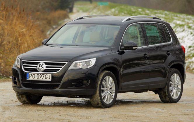 Volkswagen Tiguan I - przód