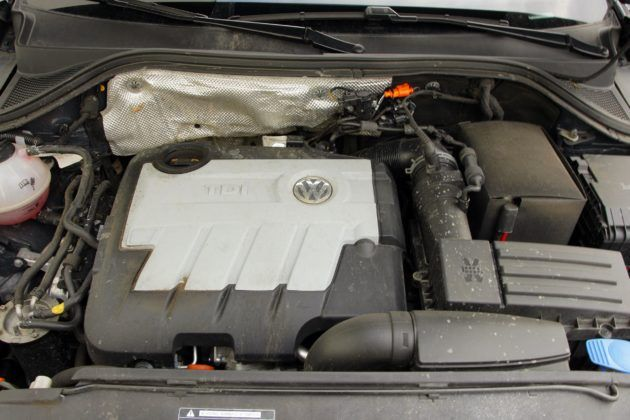Volkswagen Tiguan I - silnik