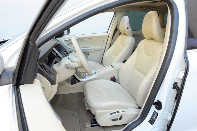 Volvo XC60 - fotel kierowcy
