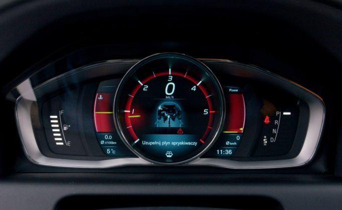 Volvo XC60 - zegary