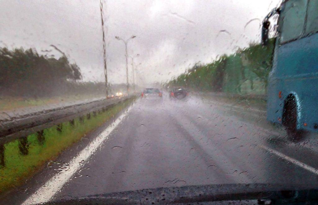 Widoczność w deszczu