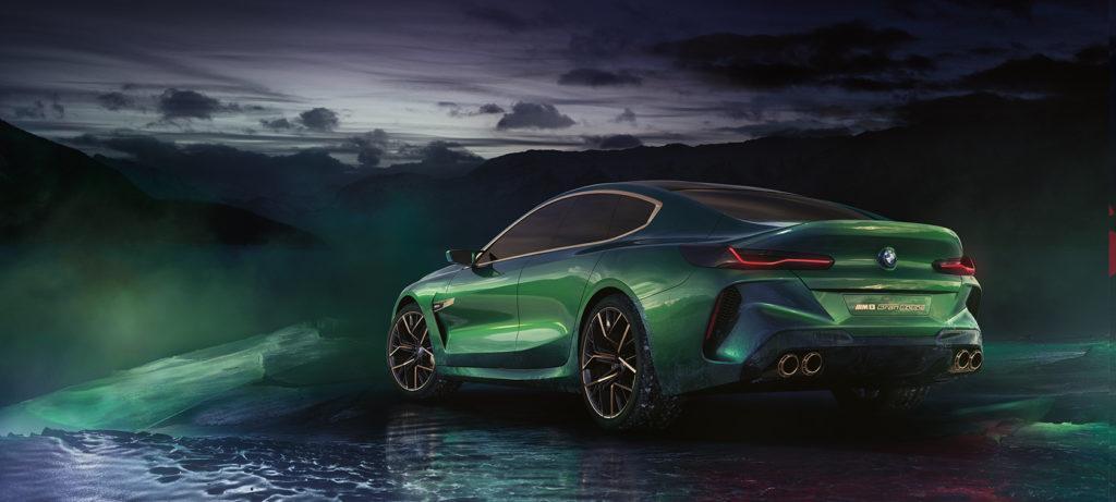 Koncepcyjne BMW M8 Gran Coupe