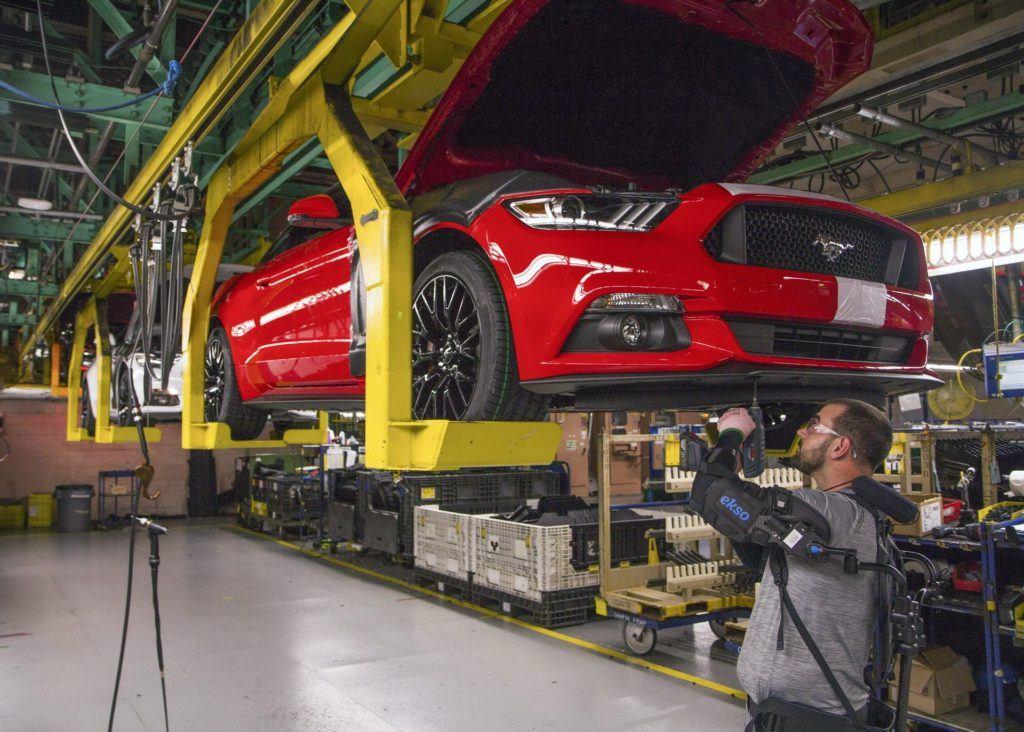 Produkcja Forda Mustanga