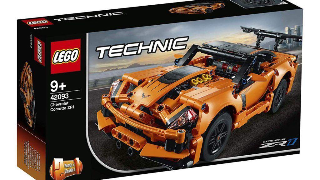 Corvette ZR1 od Lego Technic