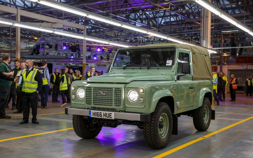 Land Rover Defender Heritage Edition (2016)