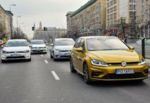 4 x Volkswagen Golf